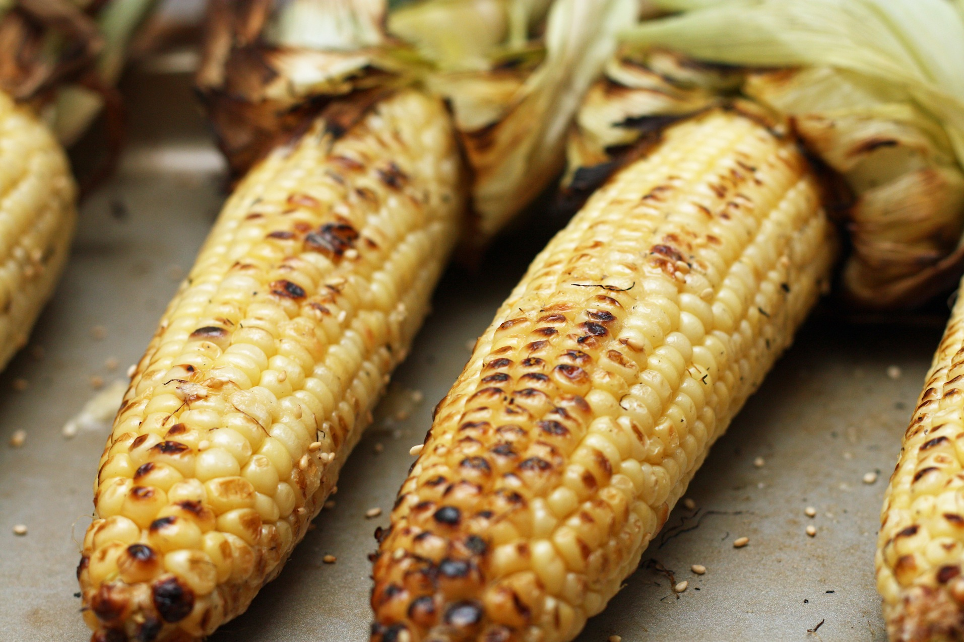 Grilled Corn + Miso Butter by Malibu Kitchen | Epicurious Community ...